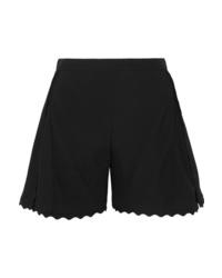 schwarze Shorts von Chloé