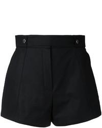 schwarze Shorts von Courreges