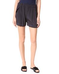 schwarze Shorts von DKNY