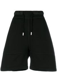 schwarze Shorts von Dsquared2