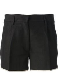 schwarze Shorts von Forte Forte
