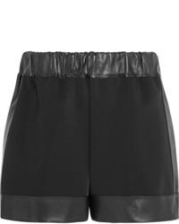schwarze Shorts von Givenchy
