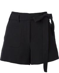 Schwarze Shorts von Helmut Lang