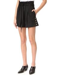 schwarze Shorts von IRO