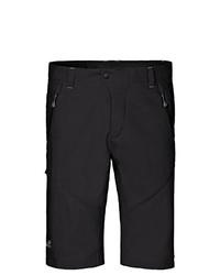 schwarze Shorts von Jack Wolfskin