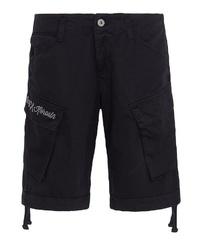 schwarze Shorts von KINGKEROSIN