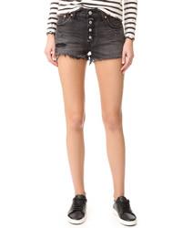 schwarze Shorts von Levi's