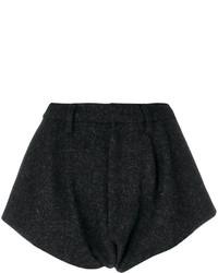schwarze Shorts von Maison Margiela