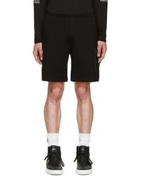 schwarze Shorts von Marcelo Burlon County of Milan
