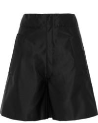 Schwarze Shorts von Miu Miu