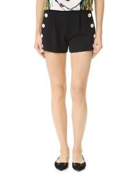 schwarze Shorts von Moschino