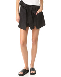Schwarze Shorts von MSGM