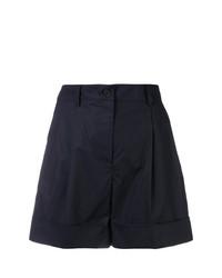 schwarze Shorts von P.A.R.O.S.H.