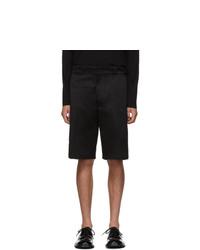 schwarze Shorts von Prada