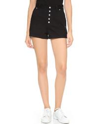 schwarze Shorts von Rag & Bone