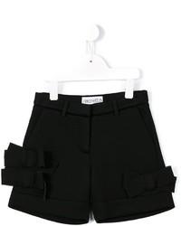 schwarze Shorts von Simonetta