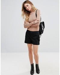 schwarze Shorts von Vila