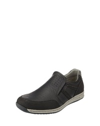 schwarze Slip-On Sneakers von Relife