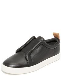 schwarze Slip-On Sneakers von Vince