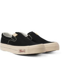 schwarze Slip-On Sneakers von VISVIM