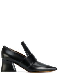 schwarze Slipper von Givenchy
