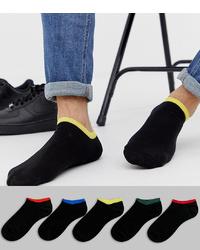 schwarze Sneakersocken von ASOS DESIGN