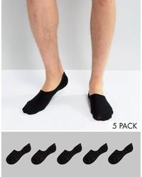 schwarze Sneakersocken von Asos