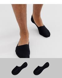 schwarze Sneakersocken von Calvin Klein