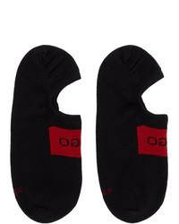 schwarze Sneakersocken von Hugo