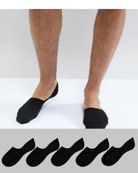 schwarze Sneakersocken von New Look