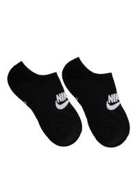 schwarze Sneakersocken von Nike