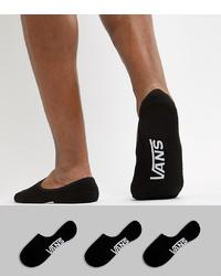 schwarze Sneakersocken von Vans