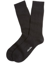 schwarze Socke