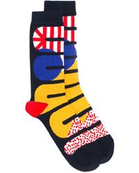 schwarze Socken von Henrik Vibskov