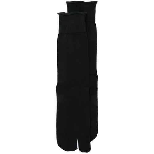 schwarze Socken von Maison Margiela