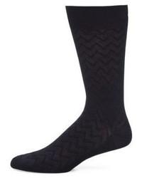 Schwarze Socke von Pantherella