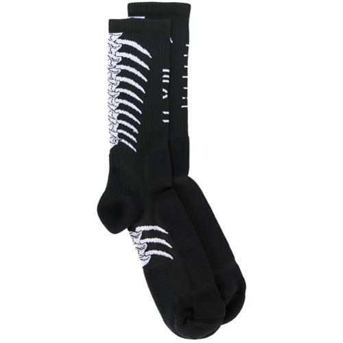 schwarze Socken von Unravel Project