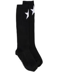 schwarze Socken mit Sternenmuster von Givenchy