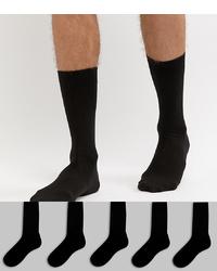 schwarze Socken von ASOS DESIGN
