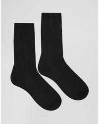 schwarze Socken von Asos