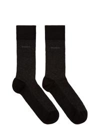 schwarze Socken von BOSS