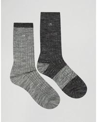 schwarze Socken von Calvin Klein Jeans