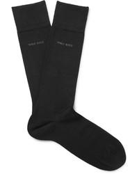 schwarze Socken von Hugo Boss