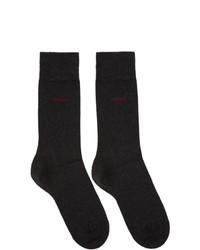 schwarze Socken von Hugo