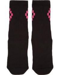 schwarze Socken von Marcelo Burlon County of Milan