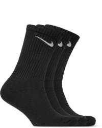 schwarze Socken von Nike
