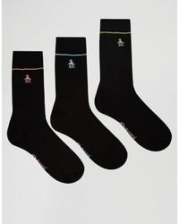 schwarze Socken von Original Penguin