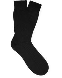 schwarze Socken von Pantherella