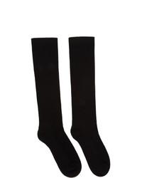 schwarze Socken von Rick Owens