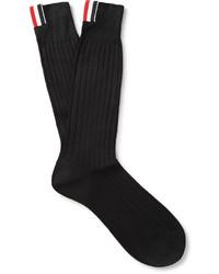 schwarze Socken von Thom Browne